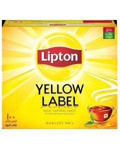 LIPTON YELLOW LABEL 100 TEA BAGS