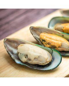 Mussels Half Shell Frozen 1Kg
