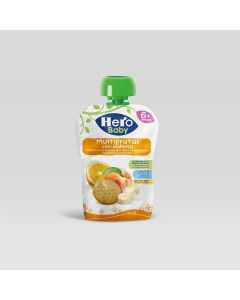 HB POUCH MXD FRUITS WITH BISCUITS 100