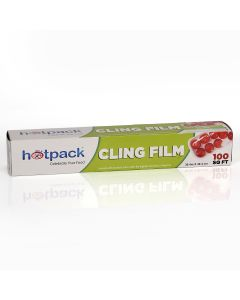 Hotpack-food wrap (cling film) 100 sqft