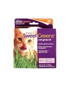 SmartyKat® Sweet Greens® Kit Cat Grass Grow Kit