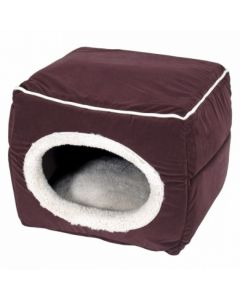 """SmartyKat® CatnapConvertible™ Cat Bed With Catnip """