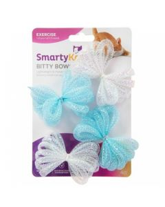 """SmartyKat® Bitty Bows™ Set Of 4 Mesh Ball Cat Toys """
