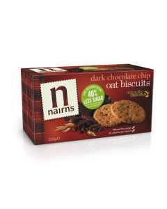 Oat Biscuits - Dark Chocolate Chip 200 GM