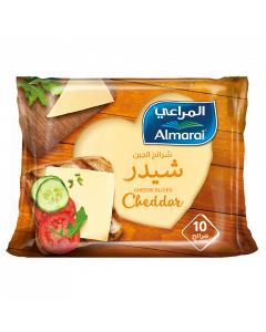 AL MARAI SLICE CHEESE CHEDDAR 200 GM