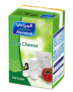 AL MARAI FETA CHEESE (CB6) EASY OPEN FULL FAT 400 GM