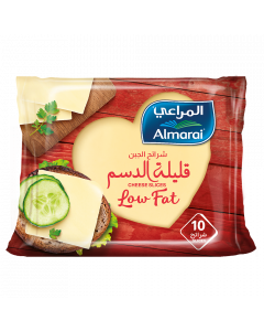 AL MARAI SLICE CHEESE CHEDDAR  LOW FAT 200 GM