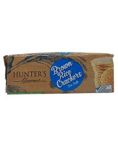 Brown Rice Crackers Sea Salt 100GM