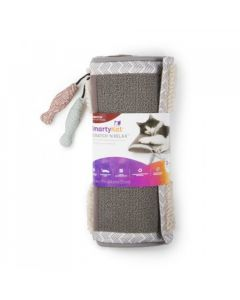 """SmartyKat® ScratchNRelax™ Cat Scratcher Mat And Lounge """