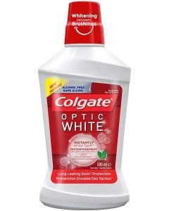 COLGATE MOUTHWASH OPTIC WHITE-500ML