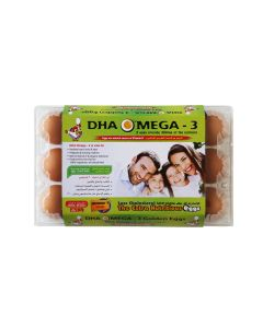 DHA OMEGA-3 Family BROWN- 15 EGGS