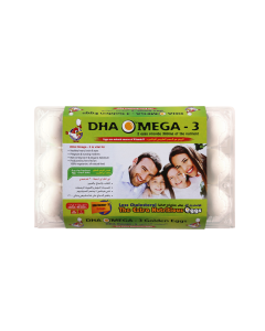 DHA OMEGA-3 Family WHITE- 15 EGGS