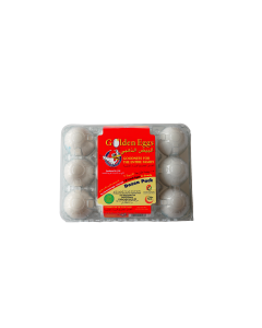 ECO & VEG. FED HEN WHITE 12 EGGS