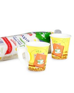 Hotpack-paper cup with handle 7-oz - 50pcs