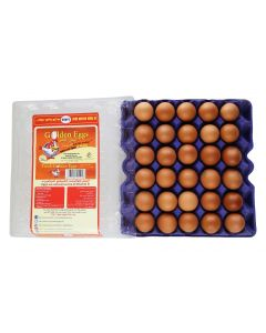 EGG LARGE TRAY - BROWN - 30 EGGS