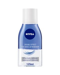 NIVEA FACE CLEANSER DOUBLE EFFECT EYE MAKEUP REMOVER 125ML