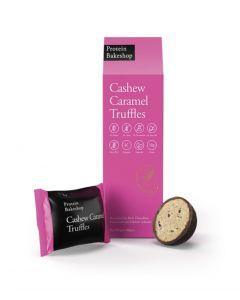 cashew caramel truffles