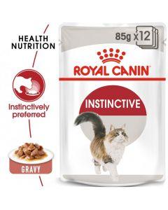 Feline Health Nutrition Instinctive Adult Cat Gravy-WET FOOD