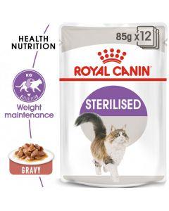 Feline Health Nutrition Sterilised Gravy (WET FOOD - Pouches)