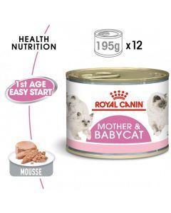 Feline Health Nutrition Mother & Babycat Mousse -WET FOOD - Cans