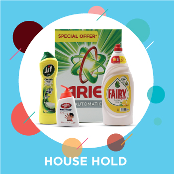 Online supermaket for household products in Dubai