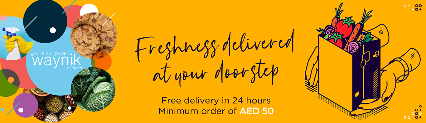 Waynik, the best online Supermarket and delivery store in Dubai